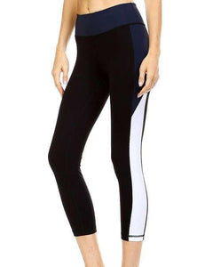JP Activewear Colour Block Capri Leggings
