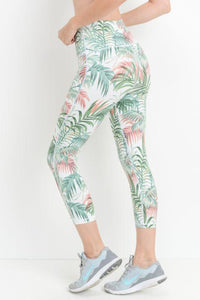 JP Activewear High Waist Island Capri Leggings