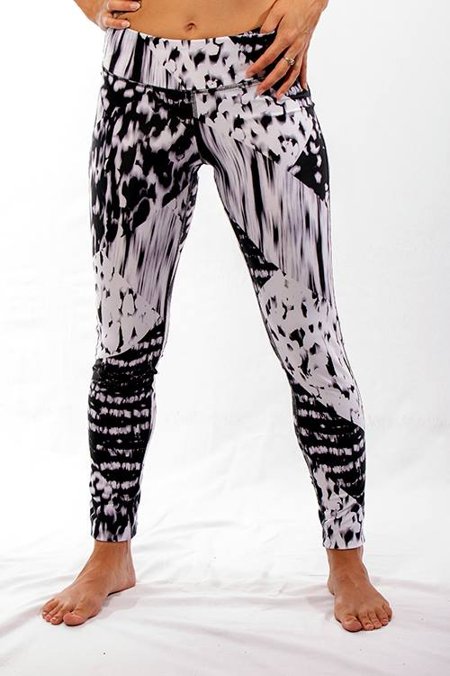 JP Activewear White Tiger Leggings