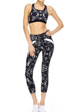 JP Tribal Zen Capri Leggings