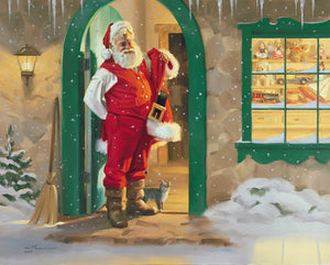 "C1088 It Feels Like Christmas - 24"" X 30"" Unframed"