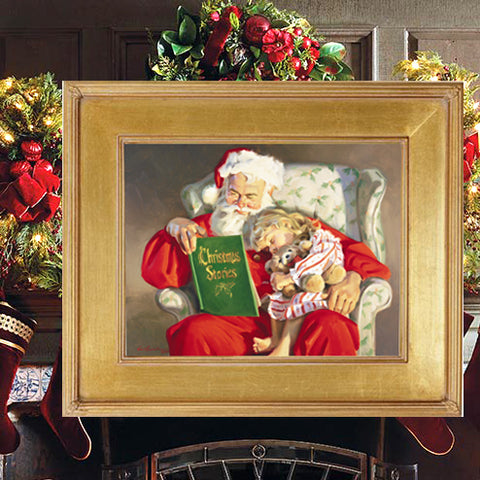 C1015 Christmas Stories Small Giclee