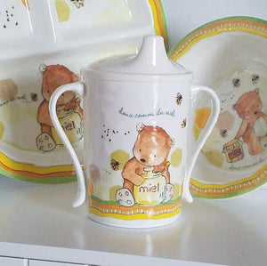 B1028 Sweet as Honey Sippy Cup