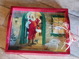 C1037 It Feels Like Christmas Tray