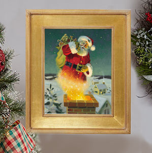 "C1062 A Magical Moment Small Canvas Giclee - Framed  11"" X 14"""