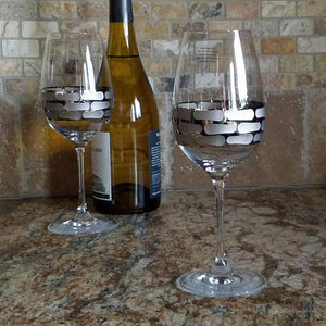 W1002 Michael Wainwright White Wine Glass Platinum