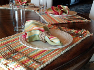 E1056 Tropical Punch Place Mat (Set of 8)