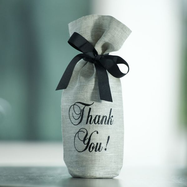 E1049 Thank You Wine Bag