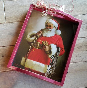 C1032 Jingle Bells Santa Tray