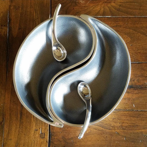 E1015 Yin Yang Bowl with Spoon