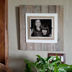 TW1005 Reclaimed Wood Picture Framed