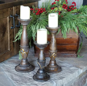 CH1002 Candlesticks Set of 3