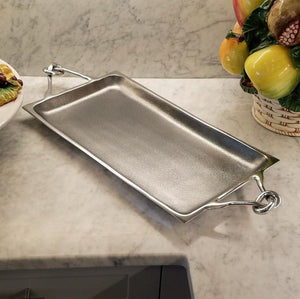 E1017 Knotty Rectangular Serving Tray