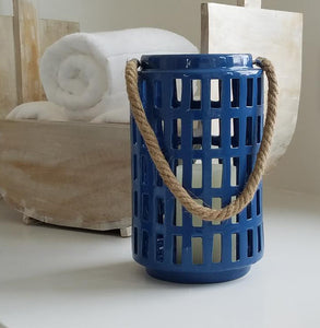 COS1011 Beach Blue Lantern Small