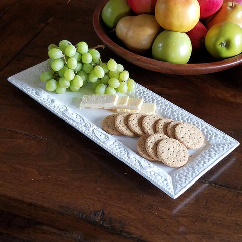 K1038  On The Farm Rectangular Snack Tray