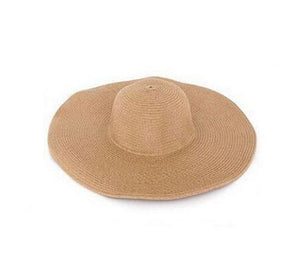 Embroidery panama hat Large Brim - Multiple Colors