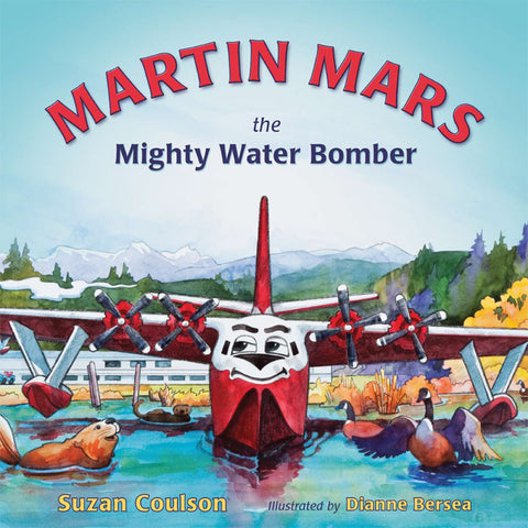 Martin Mars - The Mighty Water Bomber (by Suzan Coulson)