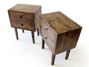 JEROME 2-DRAWER NIGHTSTAND
