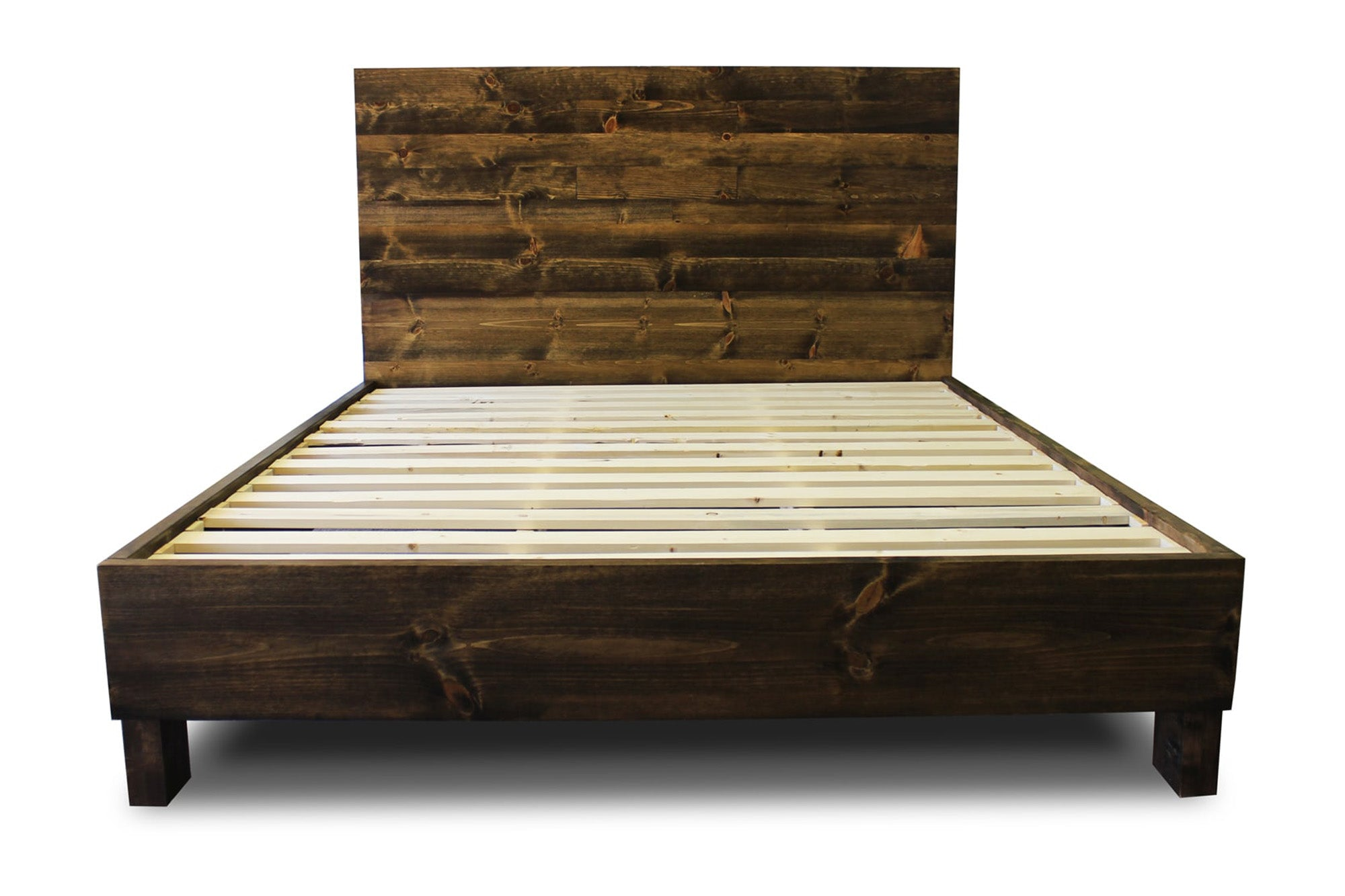 Flagstaff bed frame and headboard set pereida rice for Lit queen size