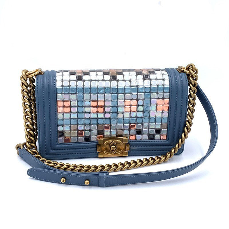 Chanel- Mosaic Medium Boy Bag