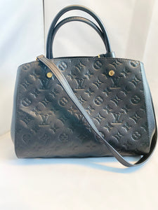 Louis Vuitton- Montaigne MM GHW