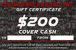 $200 Covers Unleashed Gift Certificate