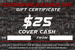 $25 Covers Unleashed Gift Certificate