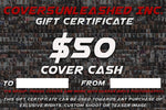 $50 Covers Unleashed Gift Certificate