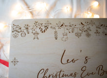 Personalised Christmas Eve Box - Hanging Decorations Design