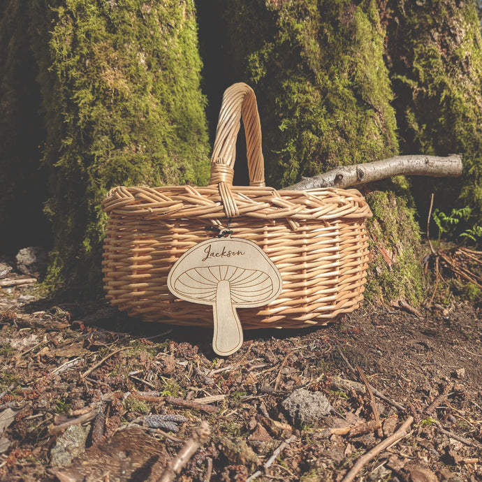 Personalised Child's Foraging Basket