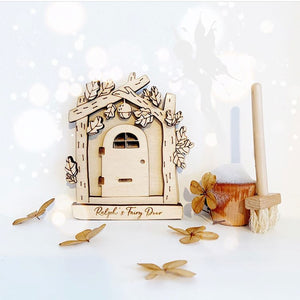 Personalised Wooden Fairy Door