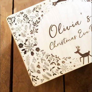 Personalised Christmas Eve Box - Robin Design