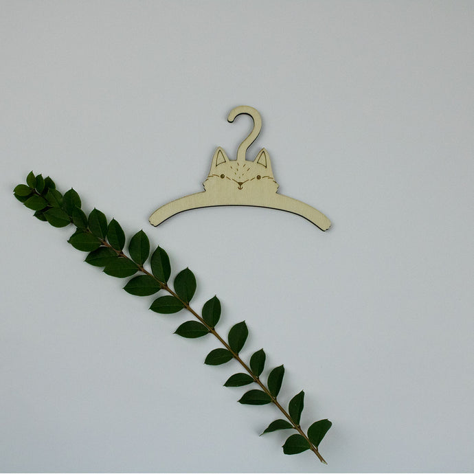 Fox Dolls Coat Hanger
