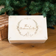Personalised Christmas Eve Box With Angel Design