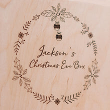 Personalised Christmas Eve Box - Christmas Wreath Design