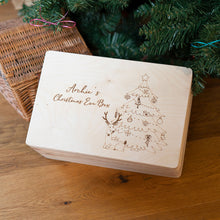 Personalised Christmas Eve Box With Tree Design