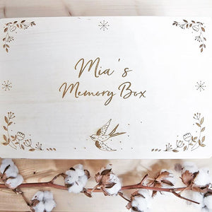 Personalised Bird Memory Box