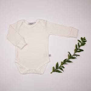 Organic Cotton Long Sleeve Vest