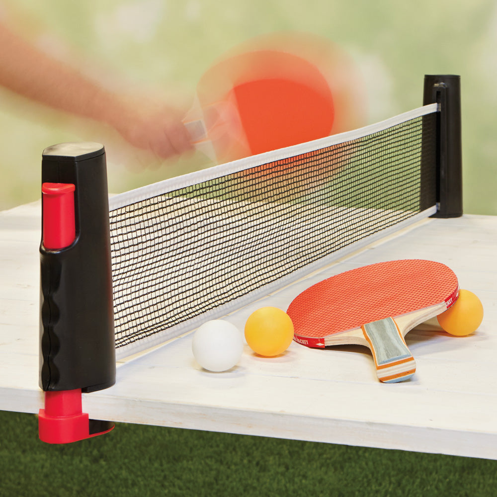 On-the-Go Table Tennis