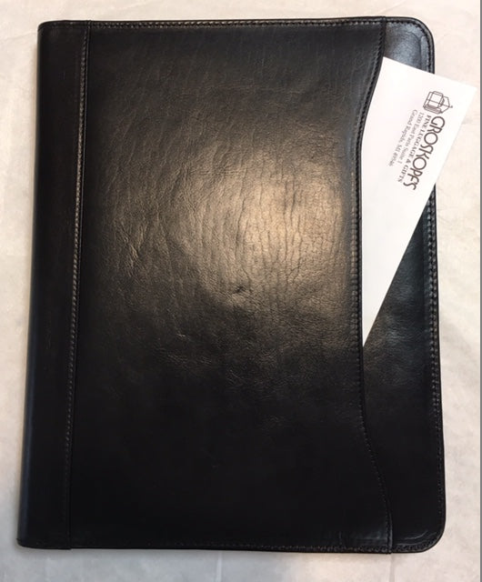 Leather Letter Pad / Portfolio