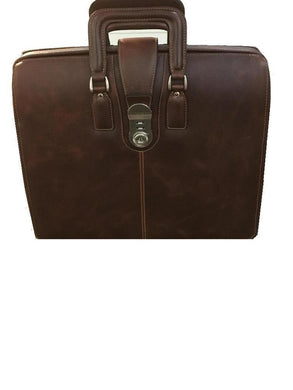 Classic Lawyers Leather Brief Case