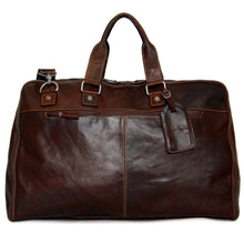 "22"" Carry On Leather Duffle Suiter"