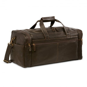 "Dorado Leather 21"" Carry On Duffel"