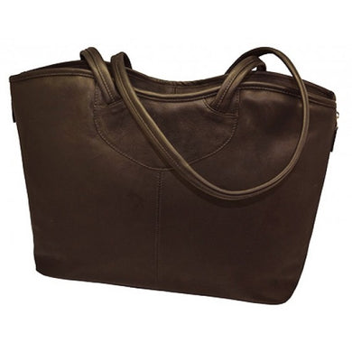 Tapered Expandable  Business Tote by DayTrekr