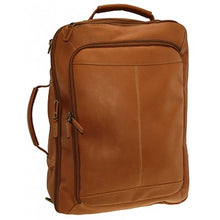 Leather Convertible Brief Backpack by DayTrekr
