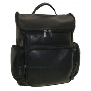 Leather U Top Backpack by DayTrekr