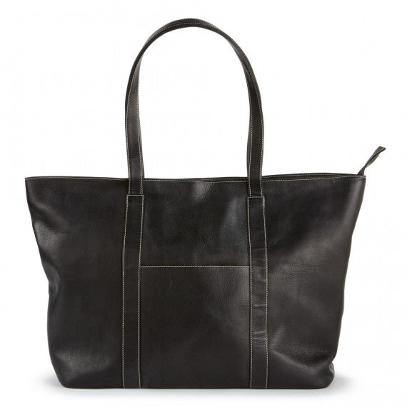 Leather Super Shopper Tote