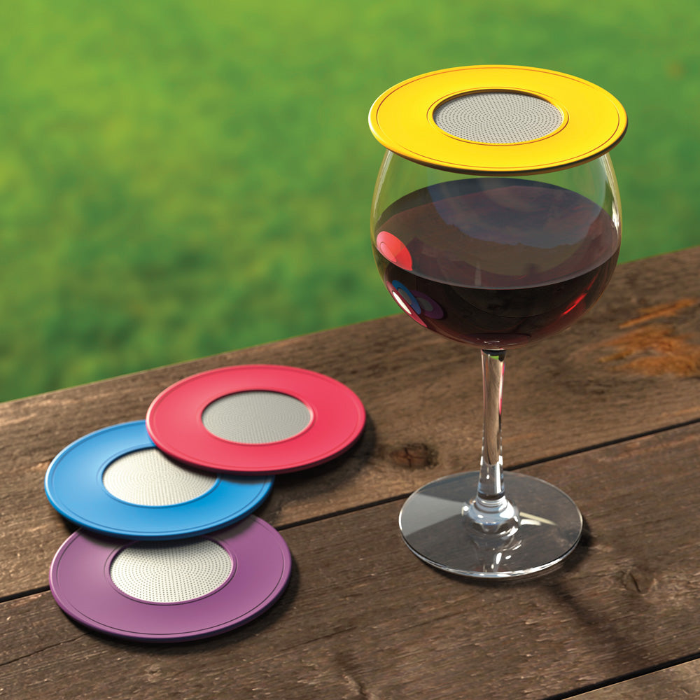 Drink Tops™ Wine Glass Covers