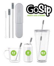 GoSip Multi-Use Straws Stainless Steel