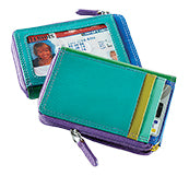 Leather RFID Card Case by ILI New York